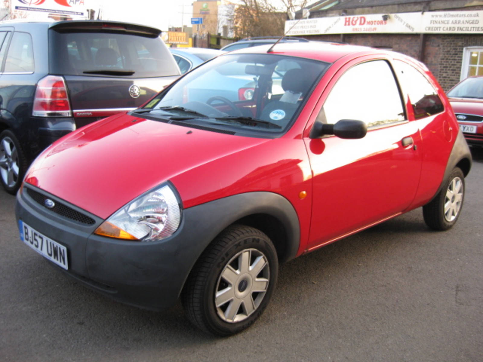 Ford Ka 1.3 Studio Hatchback Petrol Red at H & D Motors Watford