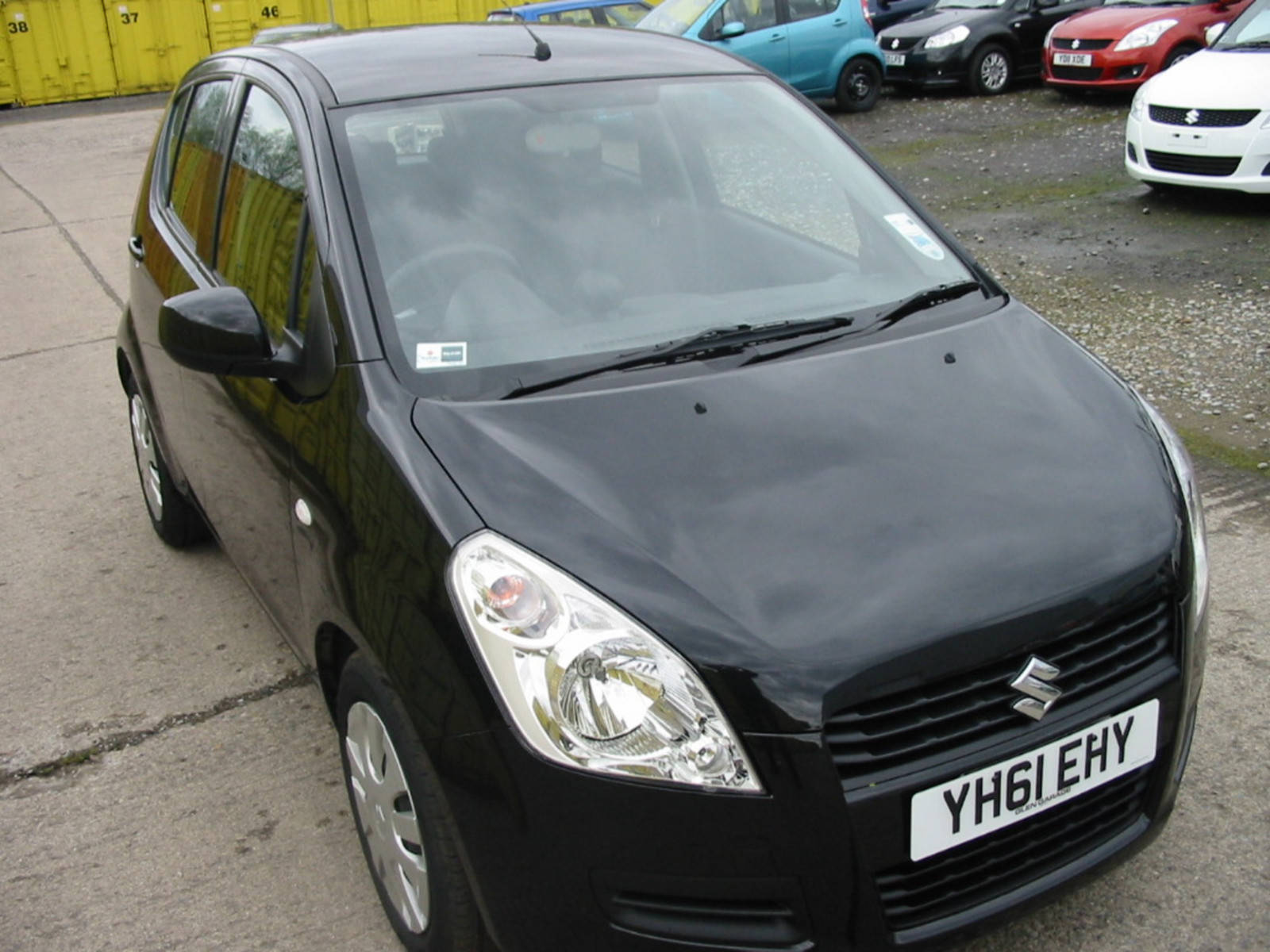 Suzuki Splash 1.2 SZ3 Hatchback Petrol Black