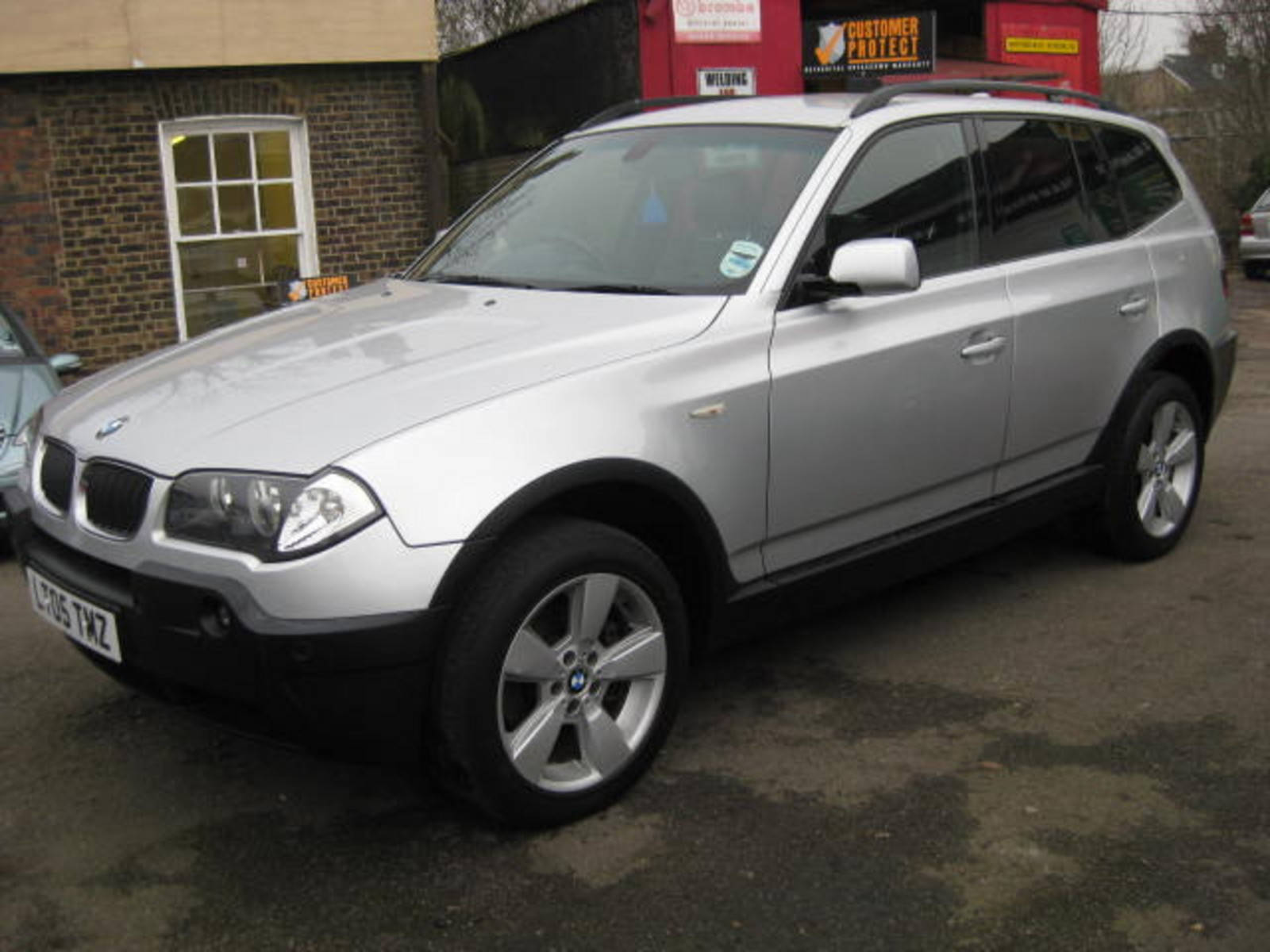 BMW X3 2.0 Sport Estate Diesel Silver at H & D Motors Watford