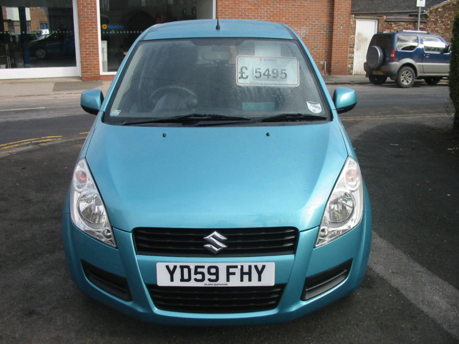 Suzuki Splash 1.2 GLS Hatchback Petrol Turquoise
