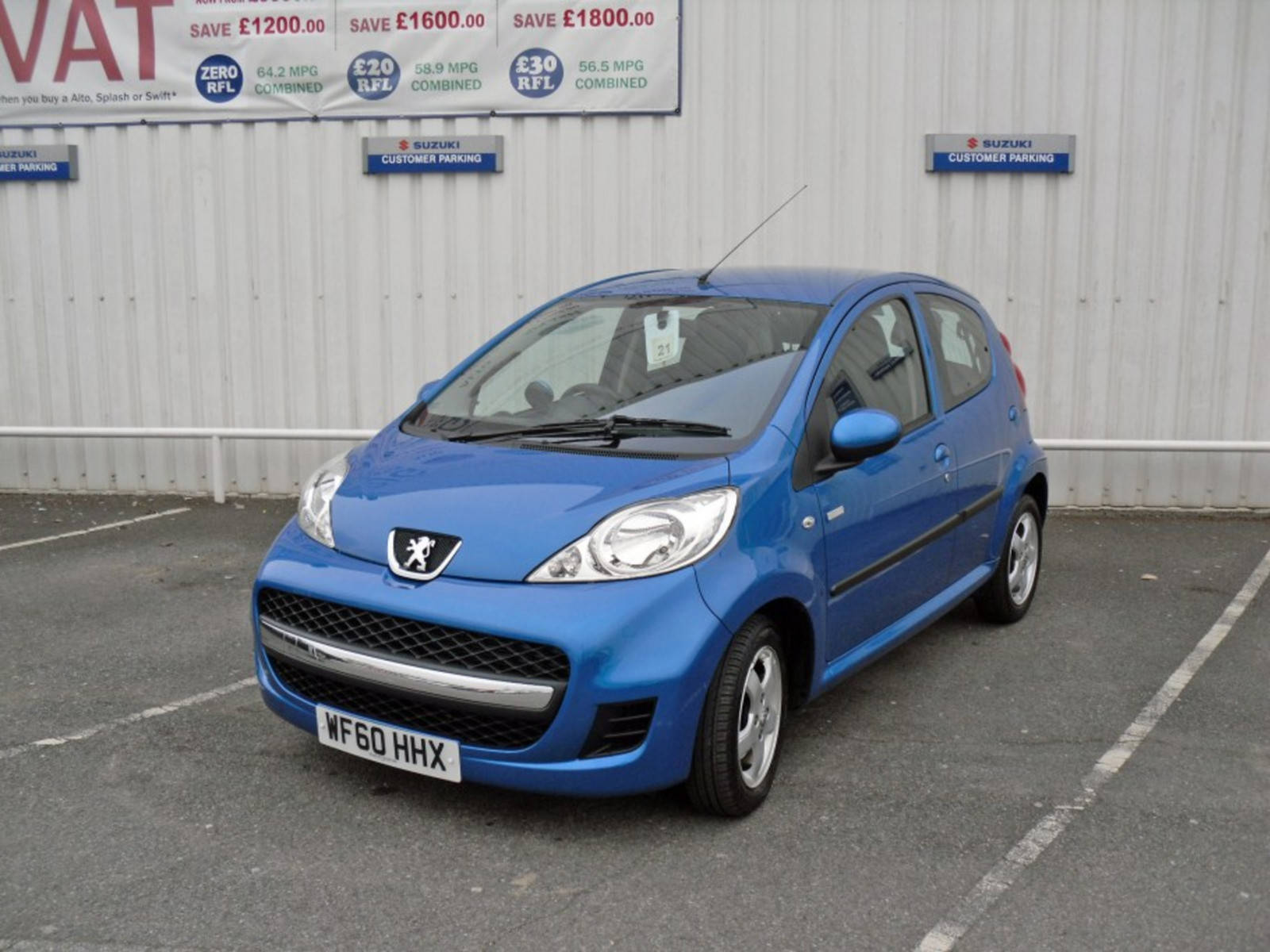 2010 Peugeot 107 Millesime 5 Door