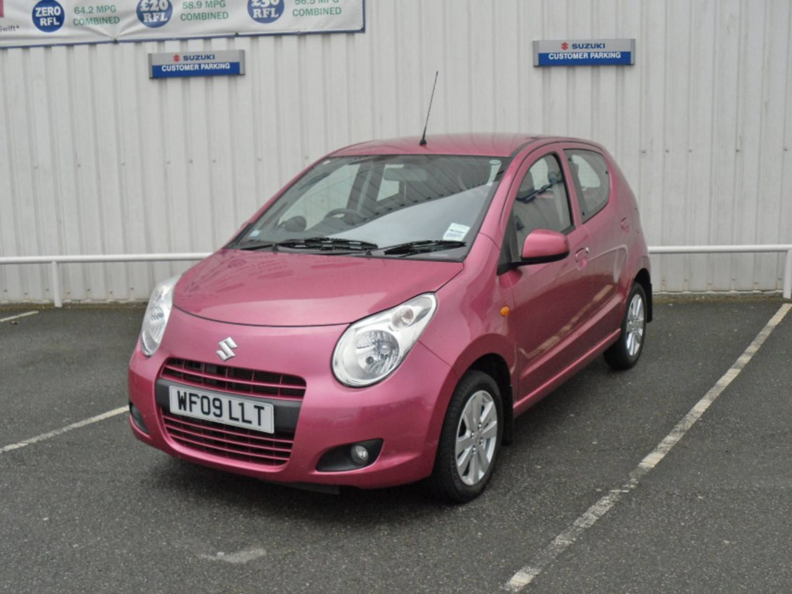 2009 Suzuki Alto SZ4 5 Door