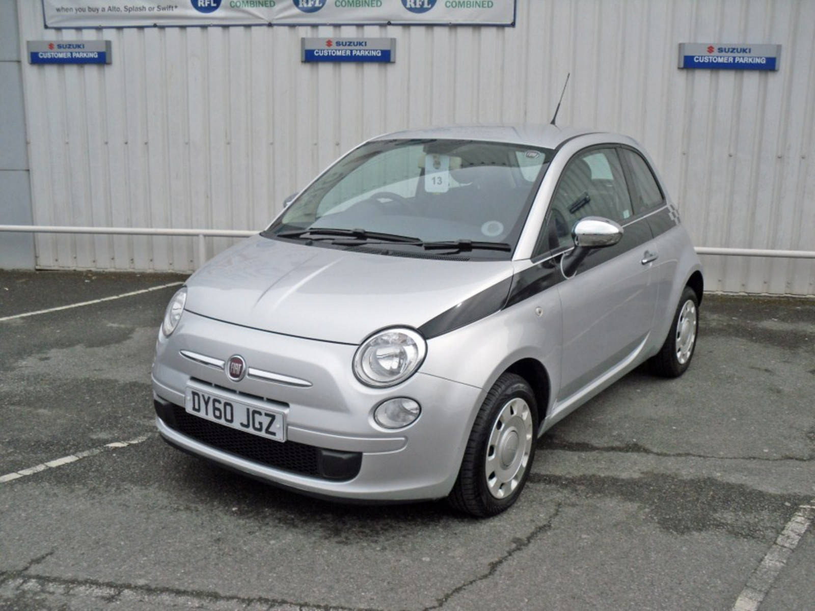 2010 Fiat 500 Pop 3 Door