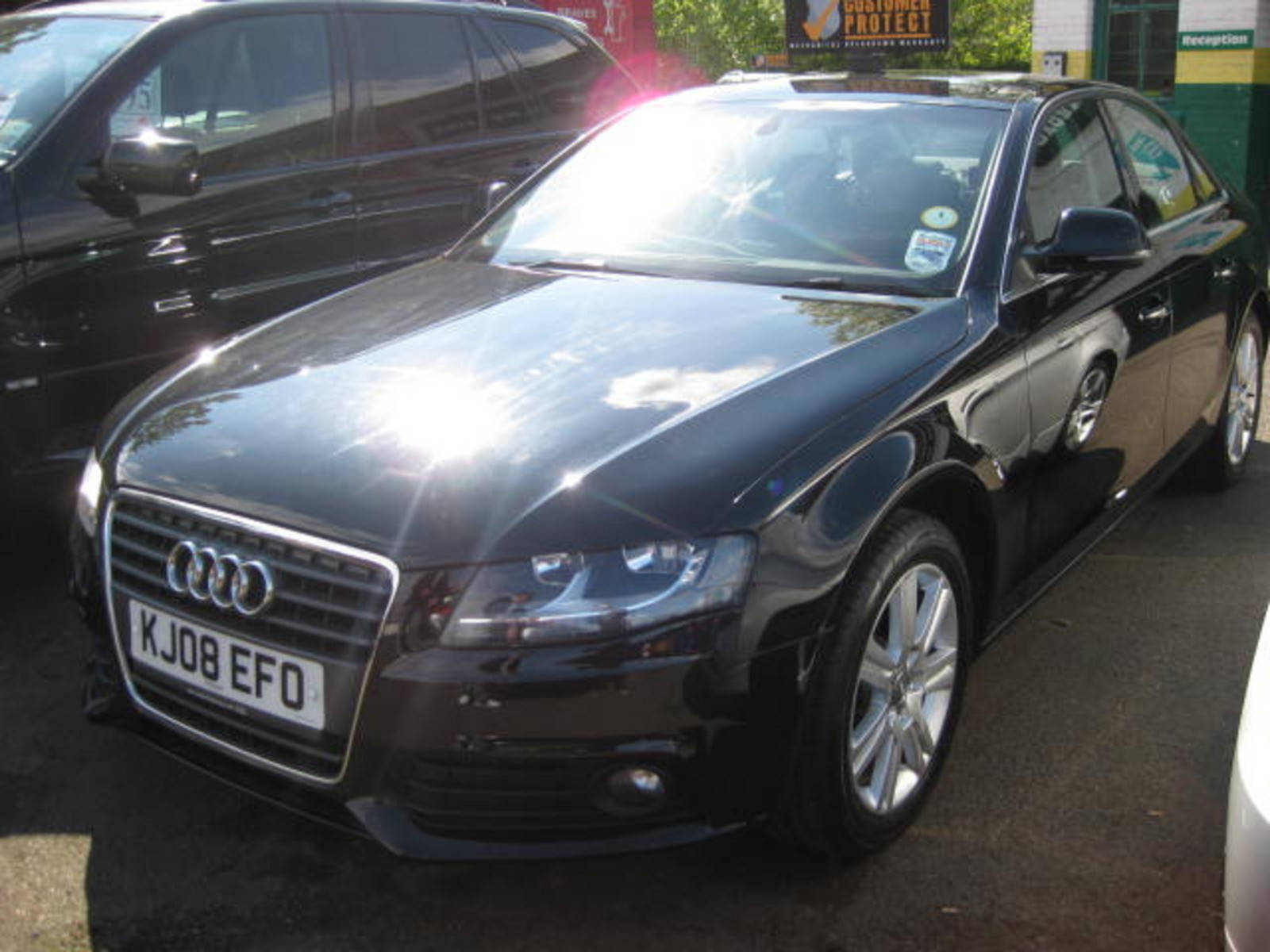 Audi A4 2.0 TDi SE Saloon Diesel Black at H & D Motors Watford