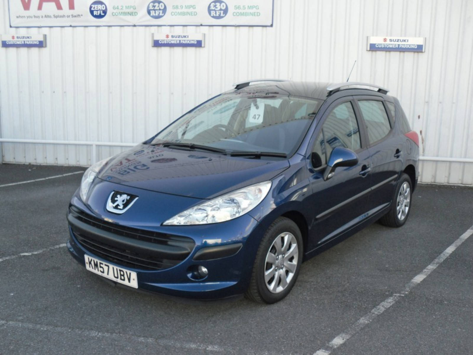 2007 Peugeot 207 SW S 5 Door
