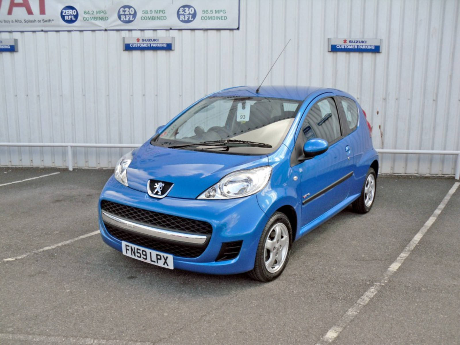 2009 Peugeot 107 Verve 3 Door
