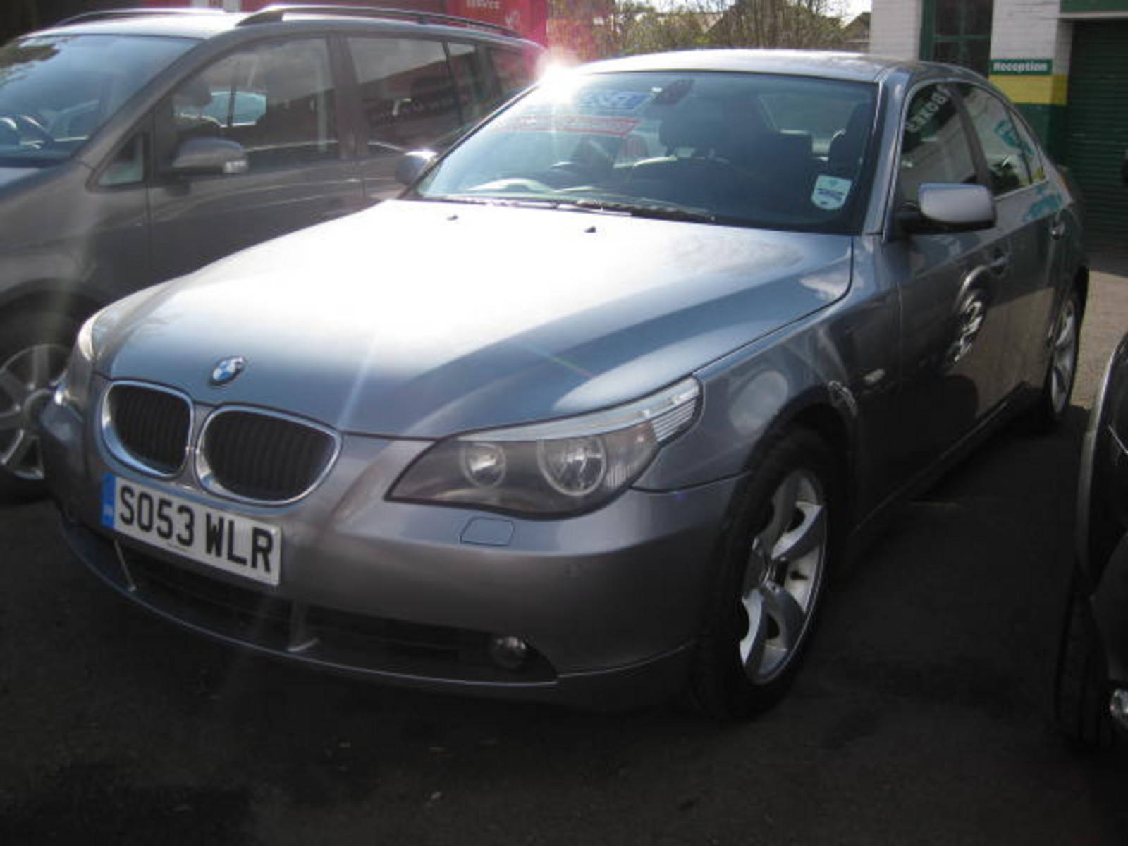 BMW 5 Series 3.0 530d SE Saloon Diesel Grey at H & D Motors Watford
