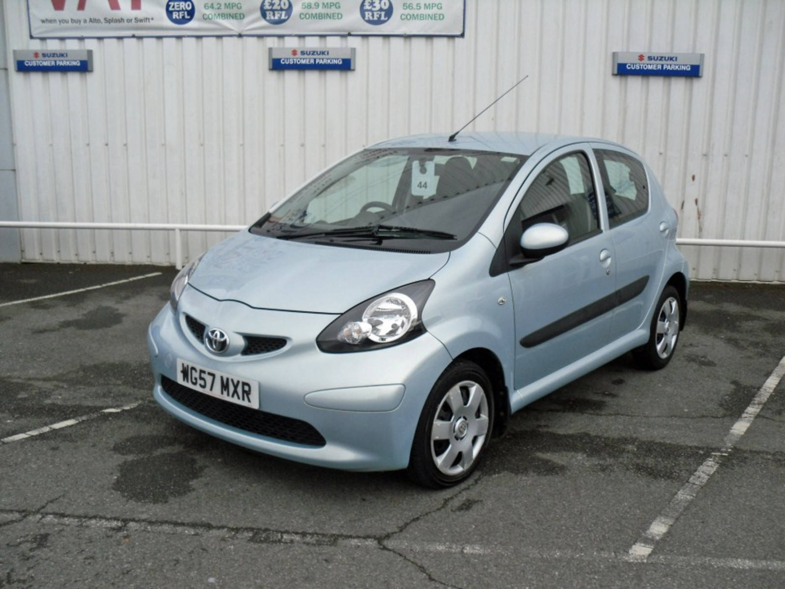 2007 Toyota AYGO VVT-i T3 5 Door