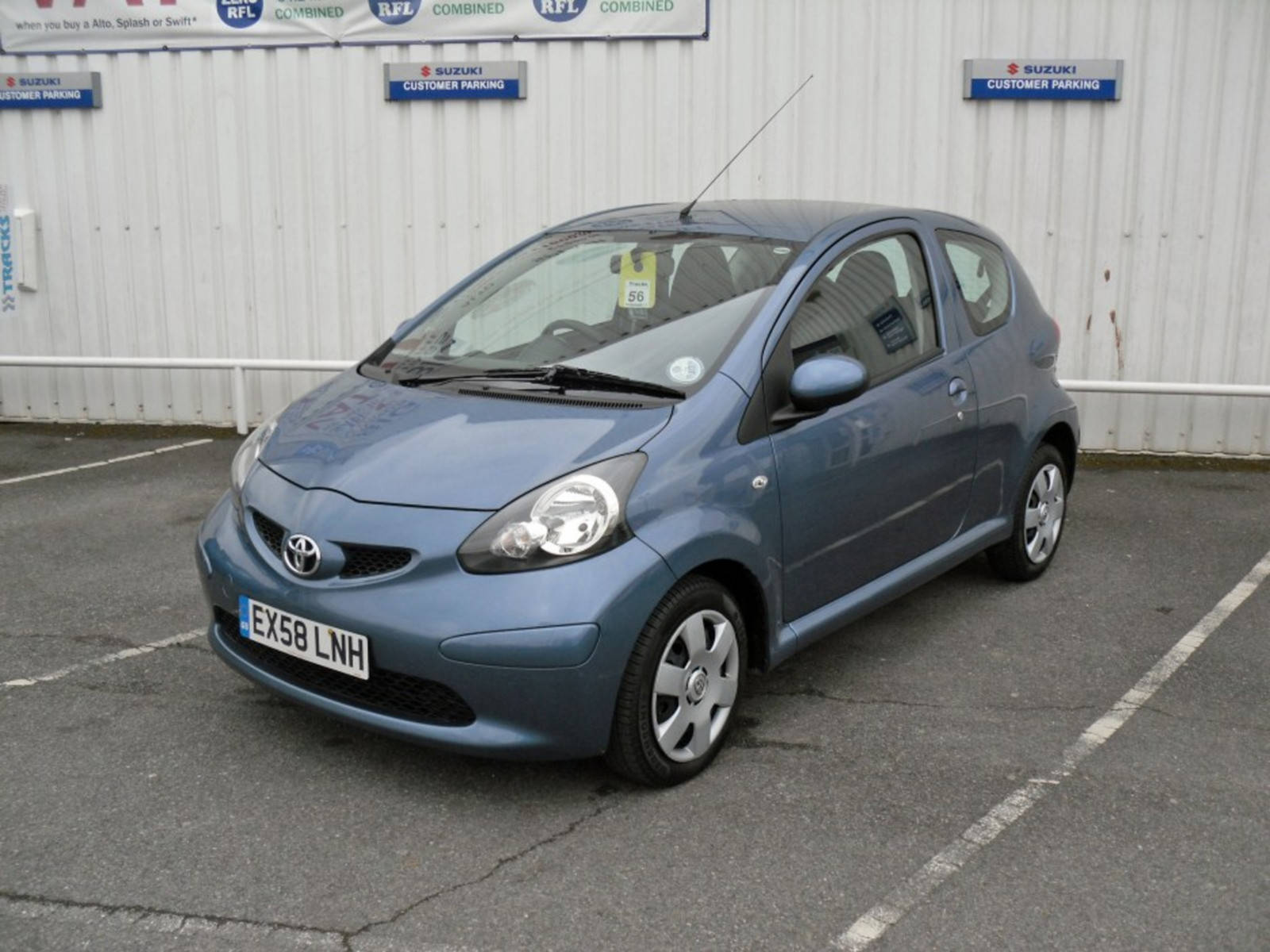 2008 Toyota AYGO VVT-i Blue 3 Door