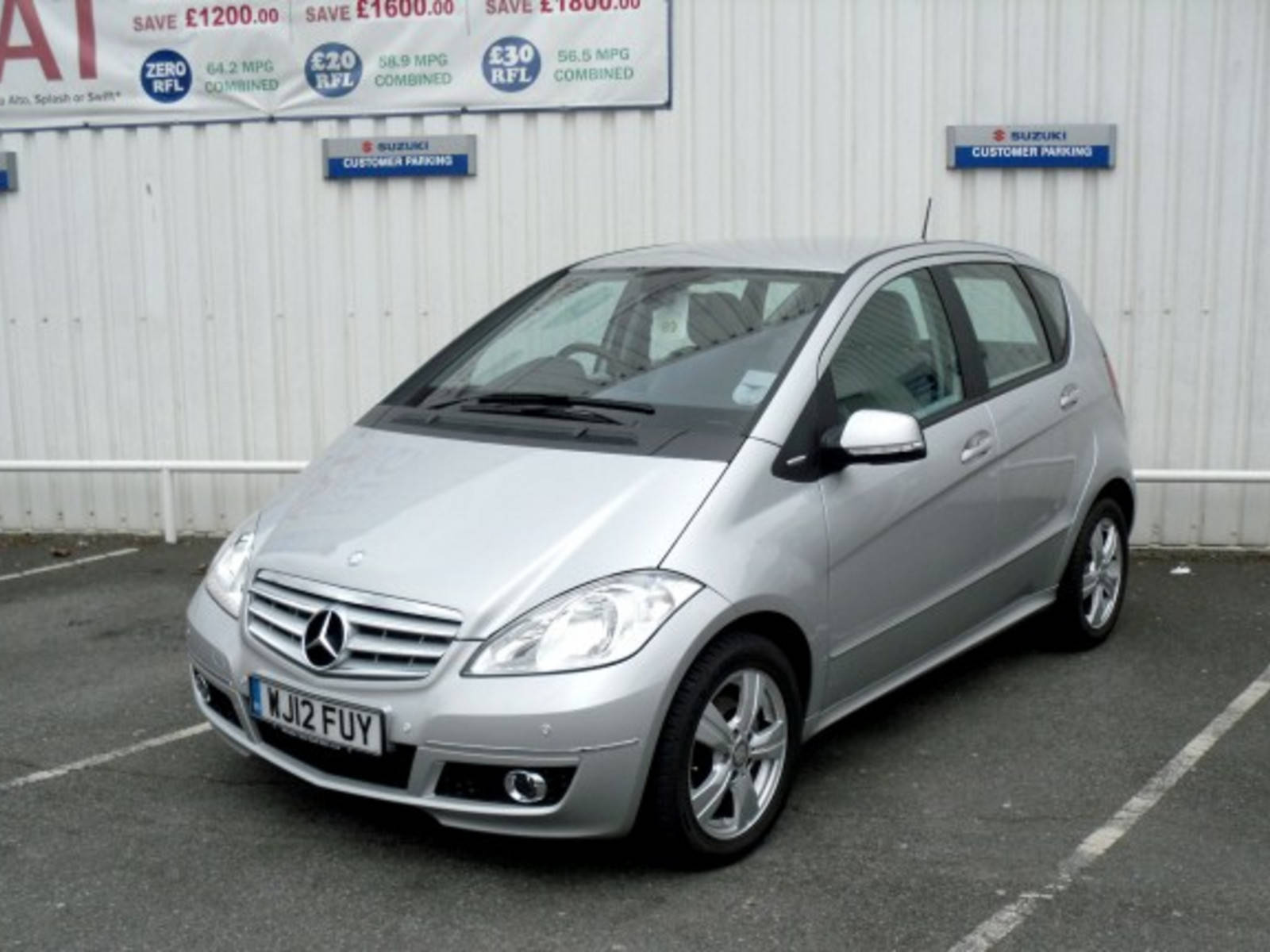 2012 Mercedes A-Class A160 Avantgarde SE Automatic 5 Door