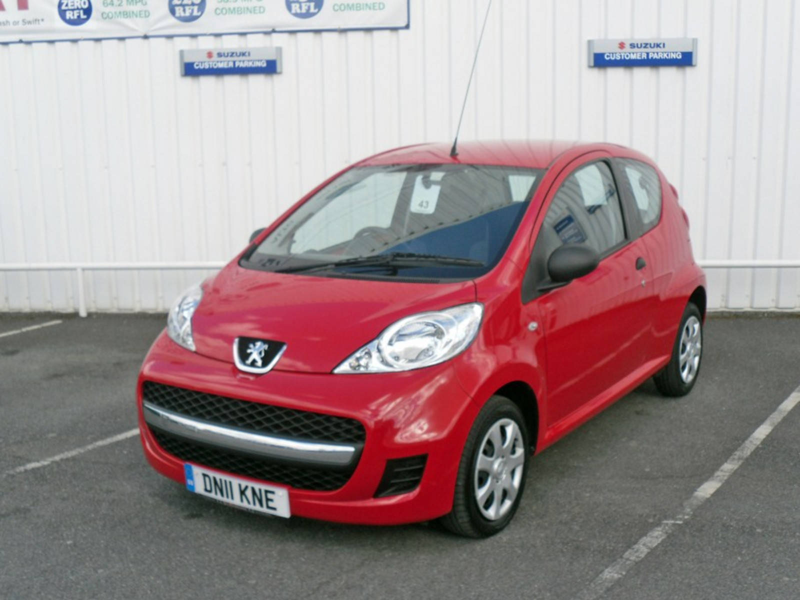 2011 Peugeot 107 Urban Lite 3 Door