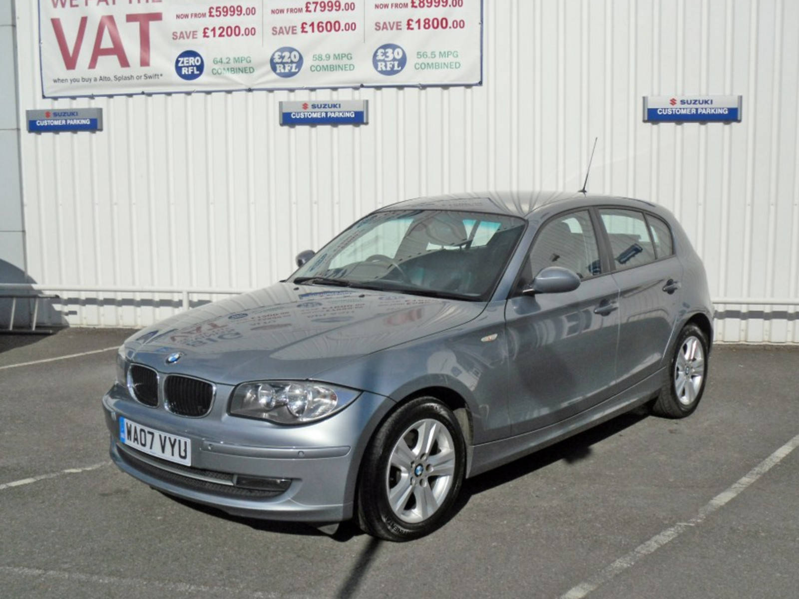 2007 BMW 1 Series 120i SE 5 Door