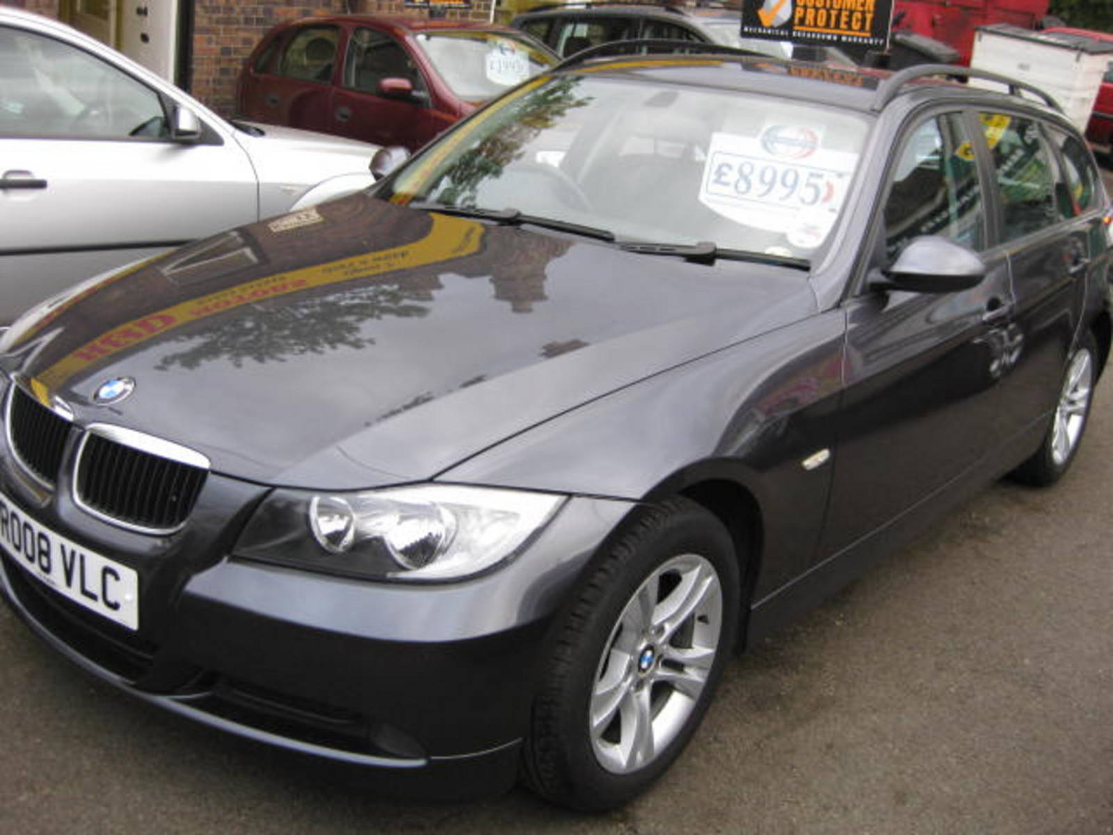 BMW 3 Series 2.0 318i SE Touring Estate Petrol Grey at H & D Motors Watford