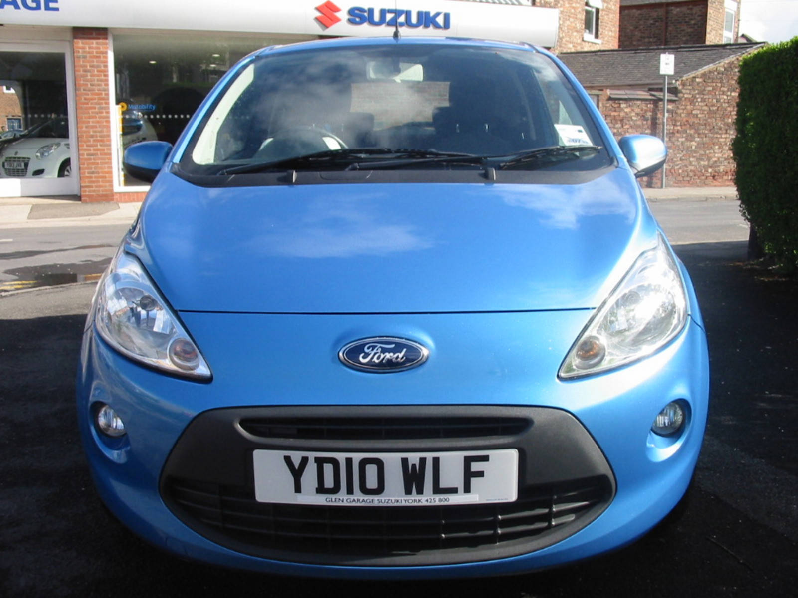 Used Car Showroom at Glen Garage Suzuki York